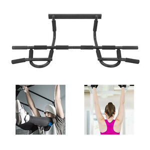 Chin Up Bar Gym Fitness Pull Up Strength Sit up Dips Exercise Workout Door Bars