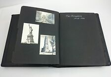 1943-1944 NEW YORK PHOTO ALBUM WW2 The Straders Vintage Architecture Picture B&W