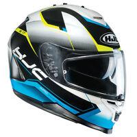 HJC IS-17 Loktar Blue Full Face Motorcycle Motorbike Helmet M XL RRP £179.99