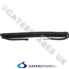 6A nero Curly cavo di alimentazione della molla avvolta FLEX 3 Core 400MM di lun...