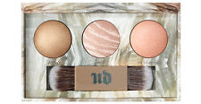 URBAN DECAY Naked + Free Sample + Illuminated TRIO Shimmering Powders and Brush