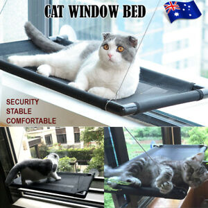 Pet Cat Window Hammock Perch Bed Hold Up To 60lbs Mounted Durable Seat AU NEW