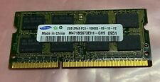 Samsung 2GB DDR3 1333MHz PC3-10600 Laptop Memory - 1 Stick - Tested