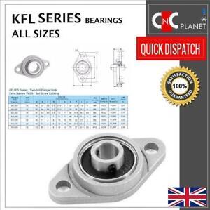 KFL Series Housing Flange Pillow Block Bearing  8 10 12 15 17 20 mm Bore UK sell