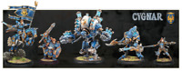 PRIVATEER PRESS - WARMACHINE - CYGNAR - CHARACTERS - VARIOUS