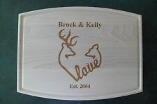 Custom Maple Cutting Board Kitchen Buck and Doe