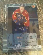 Peter Buzek 2001 Signature Series NHLPA by In The Game autographed card