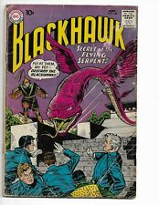 "BLACKHAWK 148 - G+ 2.5 - ""SECRET OF THE FLYING SERPENT!"" (1960)"