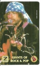 RARE / CARTE TELEPHONIQUE - BOB DYLAN / PHONECARD - COMME NEUF LIKE NEW