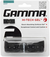 Gamma Hi-Tech Gel Replacement Grip Black - Pickleball - Tennis - Racket Sports