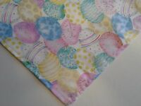 Dog Bandana/Scarf,Tie On,Easter, Eggs,Spring,Custom Made by Linda , xS,S,M,L