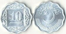PAKISTAN: 10 PIECE UNCIRCULATED COIN SET, 1 PICE TO 50 PAISE