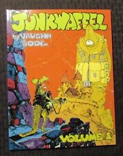 1993 JUNKWAFFEL Vaughn Bode v.1 SC VF+ 8.5 Fantagraphics Graphic Novel 1st