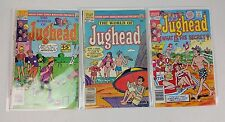 LOT OF 3 JUGHEAD #553, 577, 7 (1949 Series) Archie Comics