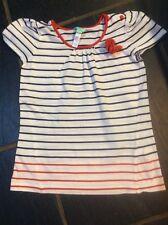 Cute MONSOON Striped T-Shirt  Top 10-12 Yrs