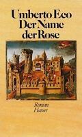 Der Name der Rose von Umberto Eco (1982, Gebundene Ausgabe)