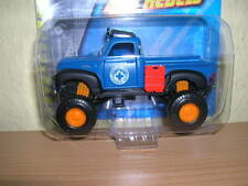 Maisto Fresh Metal 4 x 4 Rebels Chevrolet Pickup blau blue, 1:64