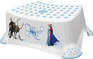 Disney FROZEN Toddler Toilet Training Non Slip Step Stool 14cm High - White