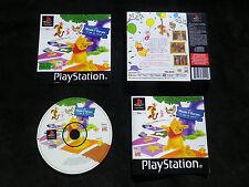JEU PLAYSTATION PS1 PS2 : DISNEY WINNIE L'OURSON C'EST LA RECRE ! (envoi suivi)