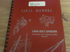 Link Belt Speeder HC-70 Parts Manual