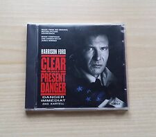 CLEAR AND PRESENT DANGER (MUSIC FROM THE ORIGINAL SOUNDTRACK) - CD SEALED