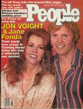 JON VOIGHT Jerry Hall MICK JAGGER Andre Watts ANGELINA JOLIE Marjoe Gortner 1978