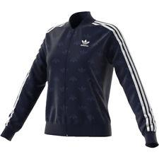 Sweatshirt Licht Adidas Original Frau - Backbeat - Marineblau Weiß - CD6918