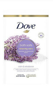 Dove LAVENDER & CHAMOMILE Relaxing Care Bath Salts 900g