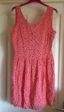 La Redoute Bird Dress With Cut Out Back, Size  12 - Gorgeous!