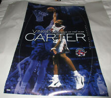 Vintage 1999 Vince Carter  Rookie of the Year Poster Toronto Raptors 23 x 35