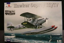 """Hawker """"Osprey"""" FAA Float Version of The famous HART Bomber A-Models 1/72 *"""