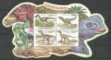 BC653 SALE GUINEA-BISSAU FAUNA PREHISTORIC ANIMALS DINOSAURS DINOSAUROS KB MNH