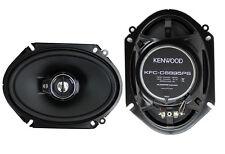 "2) New Kenwood KFC-C6895PS 6x8"" 360 Watt 3-Way Car Audio Coaxial Speakers Stereo"