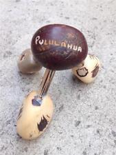 Vintage Pululahua Ecuador 3 Leg Body Massage Roller Tool