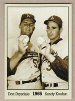 Don Drysdale & Sandy Koufax '65, Monarch Corona Immortals #5, nm-mint cond.
