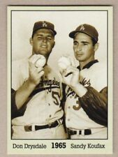 Don Drysdale & Sandy Koufax '65, Monarch Corona Immortals #5, nm-mint cond.