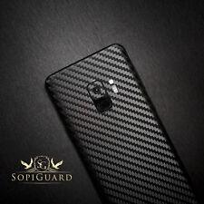 SopiGuard Carbon Fiber Sticker Skin Back Side for Samsung Galaxy S9