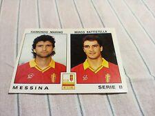 Figurina Calciatori Panini 1991/92 n°472 MARINO-BATTISTELLA MESSINA Serie B