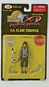 21ST CENTURY TOYS THE ULTIMATE SOLDIER XTREME DETAIL XD U.S.FLAME THROWER - NEW