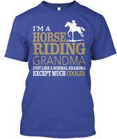 Teespring Ni Le Thi Thanh I'm A Horse Riding Grandma Classic Tee