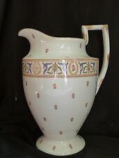 Grand broc ancien en porcelaine de Limoges H 35 cm
