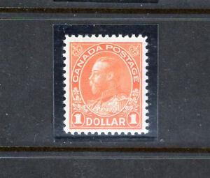 Canada 122 VF og VLH, CV $95