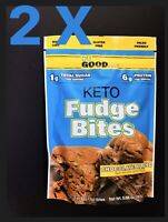 2 X Keto Fudge Bites Du Good Exp 2021 Trader Joe Chocolate Sealed 5.68 Oz Each