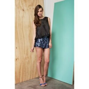 FINDERS KEEPERS - Dare To Dream Shorts (FX121106P - Navy Sequins)