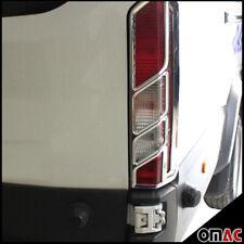For Ford Transit 150 2015-2020 Chrome Rear Brake Stop Light Frame Trim 2 Pcs