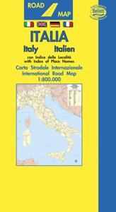 ITALIA CARTA STRADALE [SCALA 1:800.000] [MAPPA/CARTA/POSTER] BELLETTI