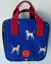 Joules Lunch Bag Dog Pattern / has flaws / Free P&P