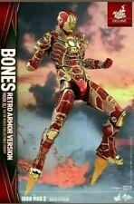 Hot Toys MMS412 Iron Man 3 0.Mark 41 XLI Bones  (Retro Armor Version) NEW
