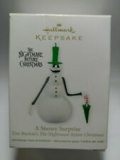 Hallmark 2011 a Snowy Surprise The Nightmare Before Christmas Keepsake Ornament