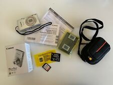Canon PowerShot ELPH 180 20 mp 28mm Wide 8X Digital Camera w/ Case Logic Case
